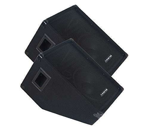 "Sound Town 2-Pack CALLISTO Series 10"" Passive Stage Monitor Speaker (CALLISTO-10M-PAIR)"