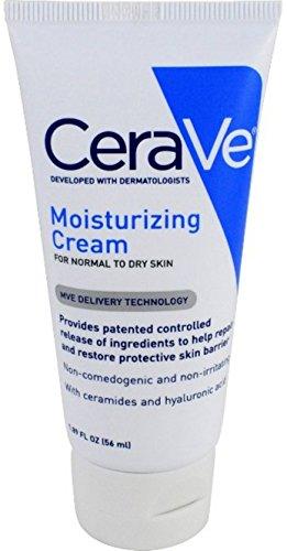 CeraVe Moisturizing Cream 1.89 oz Travel Size Face and Body