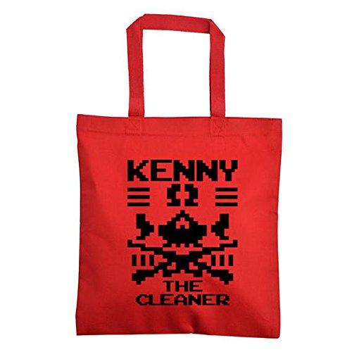 Kenny Omega The Cleaner WWE Canvas Tote Bag (Red) by Squared Circle