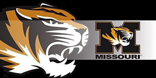 (University of Missouri Tigers Sassafras Decorative Floor Mat Insert by Evergreen)