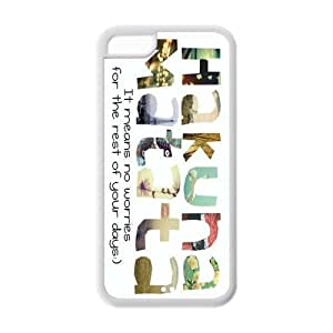 fashion case 6 4.7 cell phone case covers, Hakuna Matata Hard TPU Rubber Cover case cover dIh2YYbzGBy for iphone 6 4.7