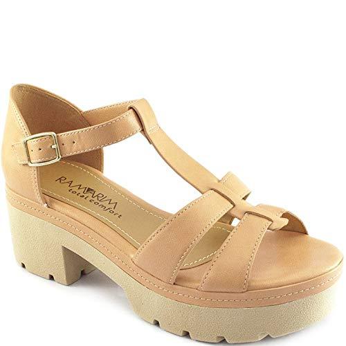 7ee3aad83c Sandália Tratorada Ramarim 1893205  Amazon.com.br  Amazon Moda