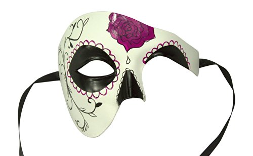 Day of the Dead Masquerade Venetian Masks (9 Styles) (DOD004)