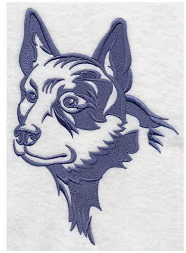 Embroidered Sweatshirt Cattle Dog - Australian Cattle Dog Embroidered Sweatshirt Shirt