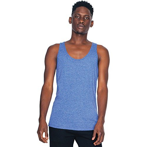 cranberry Cotton Mens Tri American Top Tank Polester Apparel Triblend Lightweight AzIIPR4n