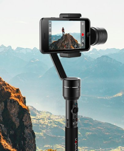 3 Axis Gimbal (Stabilizer) with Face Tracking - Uoplay 2 °Für