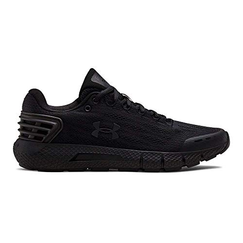 Under Armour womens Charged Rogue Running Shoe, Black (001)/Black, 10