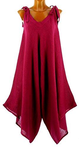 Robe Bohème 100 Longue Prune Yoni Lin Charleselie94® Violet Combinaison pqdtCwqX