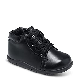 Stride Rite Boy\'s SRT Elliot Black 3.5I XW