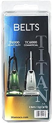 Desconocido Titan T4000 y TC6000 - Cinturones Verticales para ...
