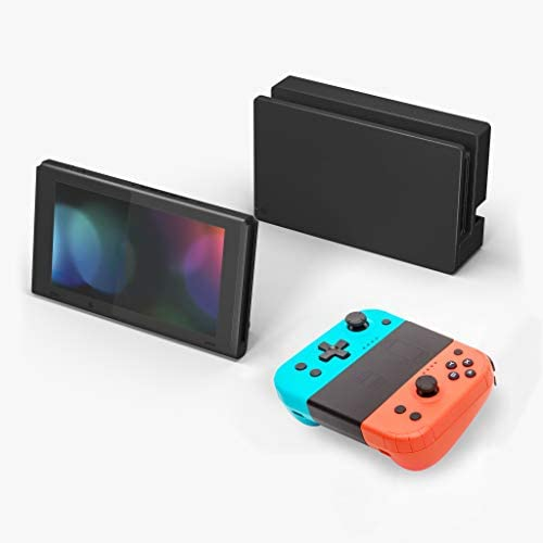 Wireless Joy Pad Controller for Nintendo Switch, Replacement Joy Con with Turbo Function Ergonomic New Shape for Comfortable Hold (Wake-UP Version)