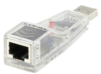 König CMP-NWUSB20 Adaptador y Tarjeta de Red: Amazon.es: Electrónica