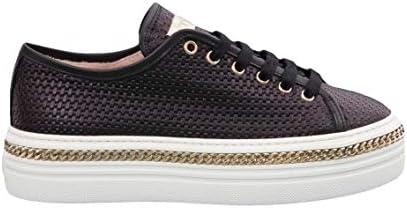 Stokton - Sneaker Nera con Catena 41