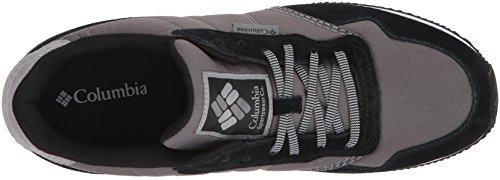 Columbia Homme Chaussures Casual, Brussels Noir (Ti Grey Steel, Black)