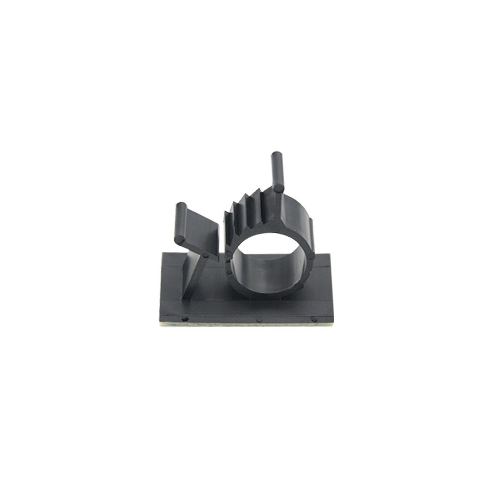TOVOT 100 PCS Adjustable Cable Clips Self - Adhesive Diameter 0.5'' -0.35'' Cable Clamps Wire Clips for Home,Office,Car Cable Wire Management