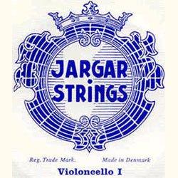 Jargar 4/4 Cello String Set Thick(Forte) (Jargar Cello Strings Forte)