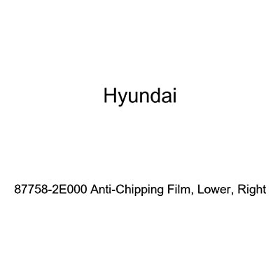 HYUNDAI Genuine 87758-2E000 Anti-Chipping Film, Lower, Right: Automotive