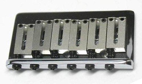 Fender USA American Standard Chrome Hardtail Bridge for Electric Guitar by Fender