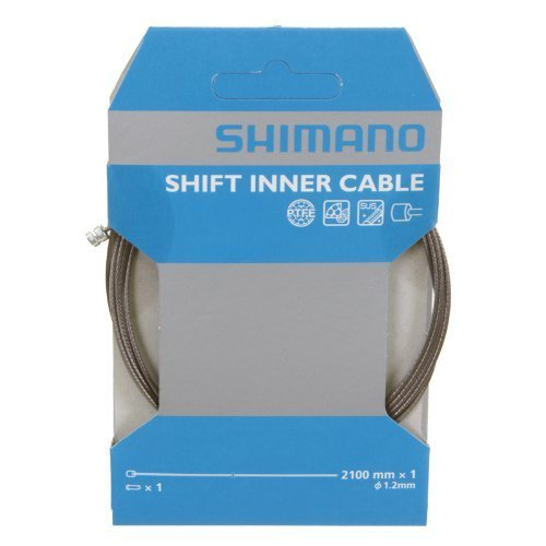 Shimano PTFE Shift Cable (1.2x2100-mm) (Bicycle Shift Cable Shimano compare prices)