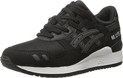 ASICS Men's Gel-lyte Iii Retro Running Shoe, Black/Black, 12 M US