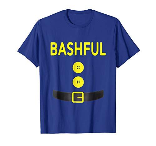 Bashful Dwarf Costume T - Shirt Funny Halloween Gifts
