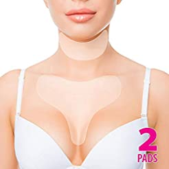 Anti Wrinkle Chest Silicone Pad, Resuabl...