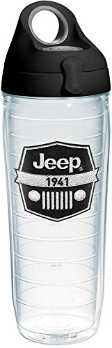 Tervis 1267870 Jeep Brand - Logo Tumbler with Emblem and Bla
