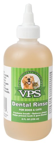 VPS Oral Dental Rinse for Dogs and Cats, 8-Ounce