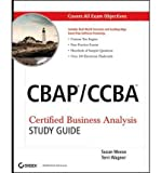 img - for [(CBAP/CCBA: Certified Business Analysis Study Guide )] [Author: Susan A. Weese] [May-2011] book / textbook / text book