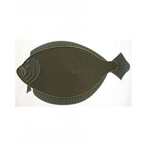 - A McDonald Door Mat Fluke Fish for Dock or Boat