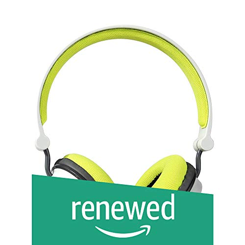 (Renewed) Boat Super Bass Rockerz 400 Bluetooth On-Ear Headphones with Mic (Grey/Green)