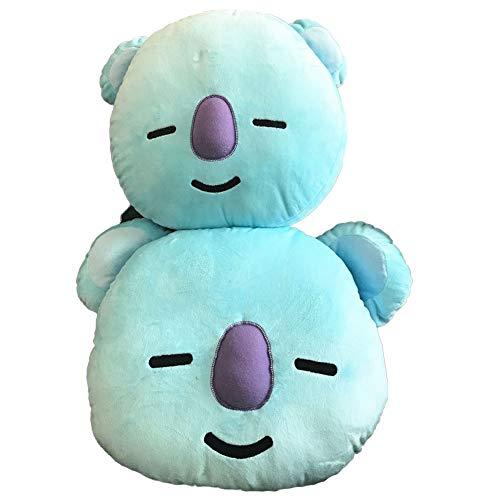 Sport Do Pack Toys BTS Pillows - Cute Cartoon Birthday Gifts for BTS Fan (30x40 + 45x55cm) Kola Blue