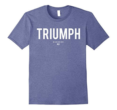 Mens Triumph XLV - White Large Heather Blue (Heather Triumph)