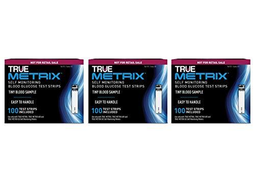 TRUE METRIX Blood Glucose Test Strips NFRS 100ct - 3 Pack (300 Test Strips)