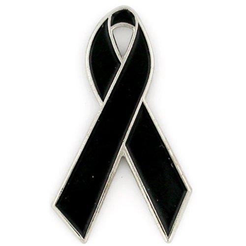 PinMart's Black Awareness Ribbon 1