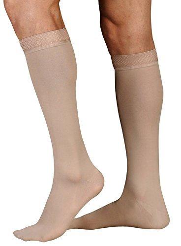 Juzo Soft Knee High Short Closed Toe 20-30mmHg V Beige [並行輸入品] B07QS4WMQT