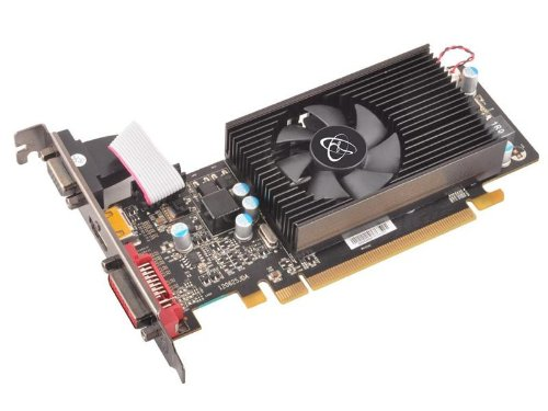 XFX HD 6670 650MHz 2GB DDR3/HDMI/DVI/VGA PCI-Express Graphics Card HD667XCLF3 - Amd Radeon Hd 6670 Graphics Card