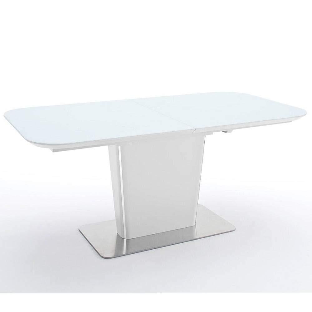 Mesa Comedor Extensible Design UMA 140 cm Blanca: Amazon.es: Hogar