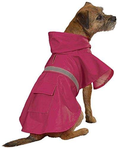 Guardian Gear Rain Jacket for Pets, Medium, Pink