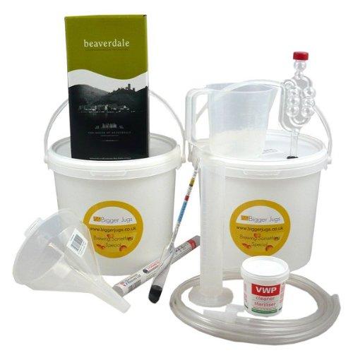 Gift Winemaking Set - White wine (6 bt size) - Pinot Grigio Bigger Jugs
