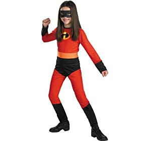 - 41ZYEBxN47L - Disguise Disney The Incredibles Violet Classic Girls Costume