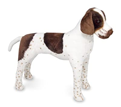Melissa Doug Plush German Shorthaired Pointer from Melissa & Doug