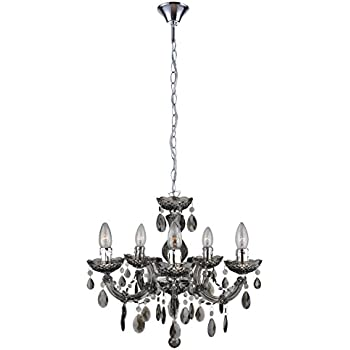The original gypsy color 4 light small black chandelier for h 175 mirrea mini black crystal chandelier 5 lights crystal like acrylic plastic aloadofball Choice Image
