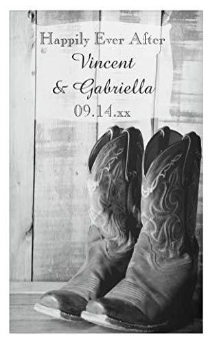 a437a7e7464 Amazon.com: 234Tiffany Rustic Cowboy Boots Country Western Wedding ...