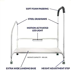 related image of Step2Bed Bed Rails For Elderly with Adjustable
