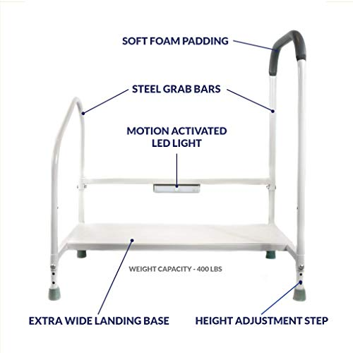 Step2Bed Bed Rails Elderly