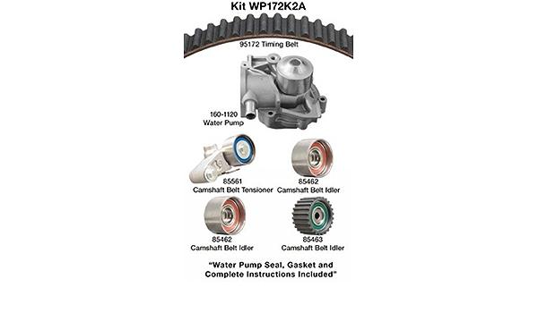 Dayco WP134K1A Timing Belt Kit