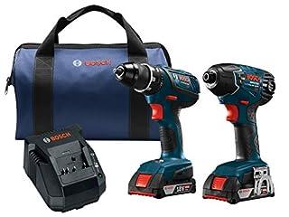 Bosch Power Tools Drill Set - CLPK232A-181 - 18-Volt Cordless Drill