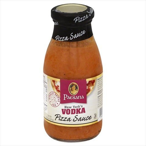 Grain Vodka (Paesana Vodka Pizza Sauce, 8.5 Ounce -- 6 per case.)