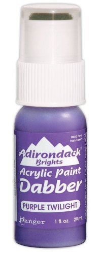 Ranger ABD-22473 Adirondack Bright Acrylic Paint Dabber, 1-Ounce, Purple Twilight by Ranger